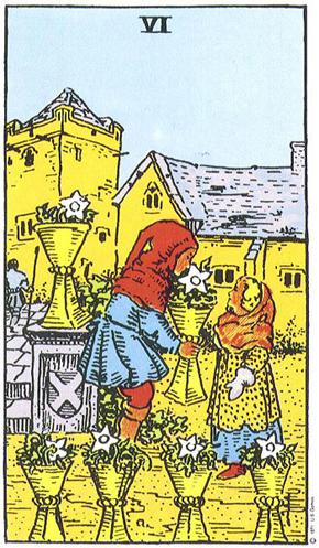 Sechs Der Kelche Im Tarot Edition Ewige Weisheit