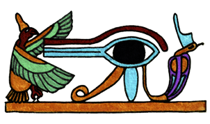 The Eye of Horus - Illustrated by Selim Oezkan