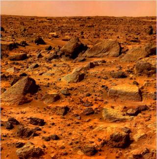 Marsoberfläche - ewigeweisheit.de
