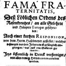 Fama Fraternitatis - ewigeweisheit.de