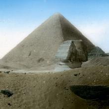 Cheops-Pyramide und Sphinx - ewigeweisheit.de