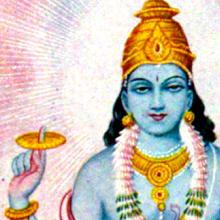 Gott Vishnu - ewigeweisheit.de