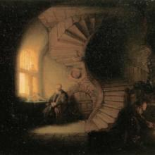 Rembrandt: Philosoph in Meditation